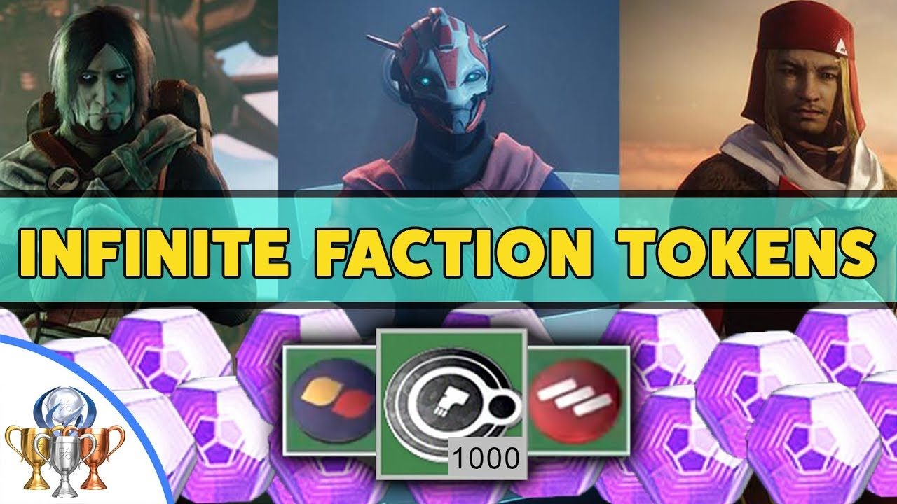 best way to farm faction tokens destiny 2 2019 Destiny 2 Faction Rally   How to Get Infinite FACTION TOKENS
