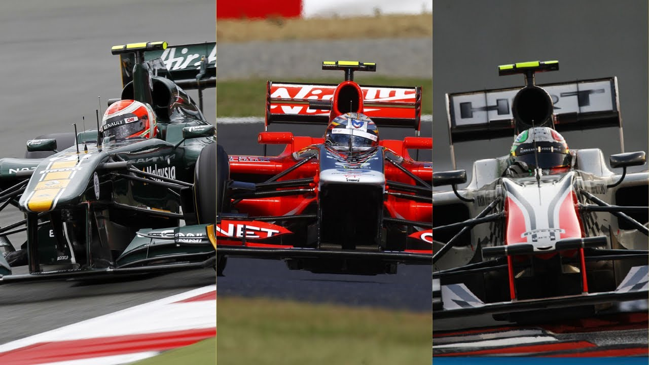 Download The Full Story of HRT, Virgin/Marussia/Manor and Lotus/Caterham - Part 2 - 2011
