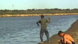 Рыбалка на сазана.  Народная снасть .