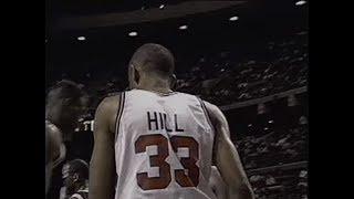 Rookie Grant Hill - 16 points, 8 rebounds, 6 assists vs. Spurs (1995)