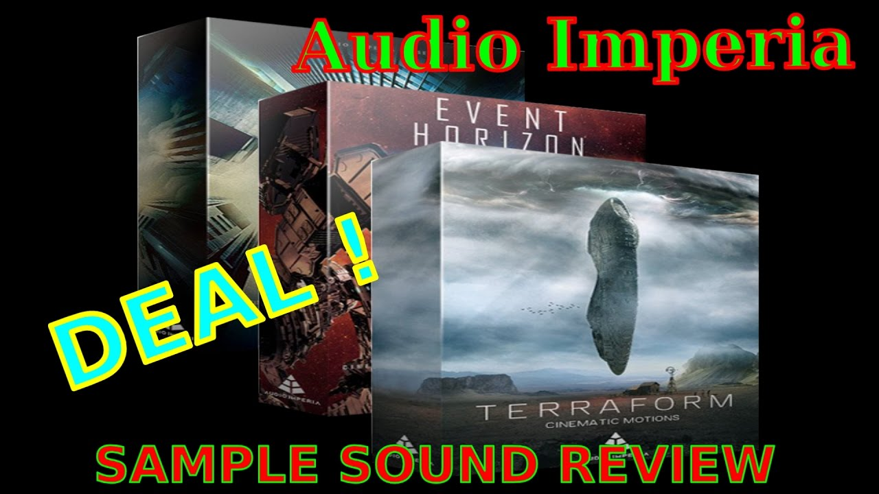 Audio Imperia -Cinematic Tool Kit Bundle DEAL! -Sample Sound Review