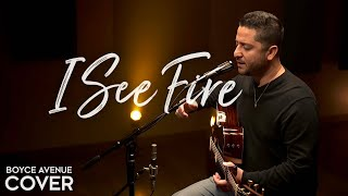 Download I See Fire - Ed Sheeran (The Hobbit)(Boyce Avenue acoustic cover) on Spotify & Apple