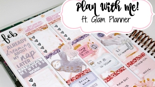 "Plan With Me! ft  Glam Planner ""Sleepy"""