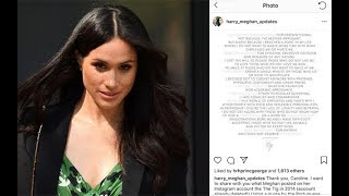Meghan Markle blog explains her relationship with her dad Thomas Markle
