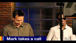 """A Different Spin with Mark Hoppus - Behind the Scenes - """"Mark Takes a Call"""""""