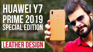 Huawei Y7 Prime 2019 SE - Leather Design | Complete Phone, Gaming and Camera Review