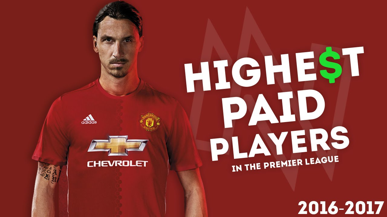 Image result for top paid epl players 2017