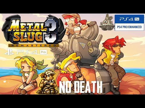 Metal Slug 3 Remastered (PS4 Pro) - One Life Full Game (No Death, Fio) [60FPS]