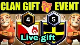 🔥🎁🎁Live Clan Gift Come Guys🎁🎁🔥