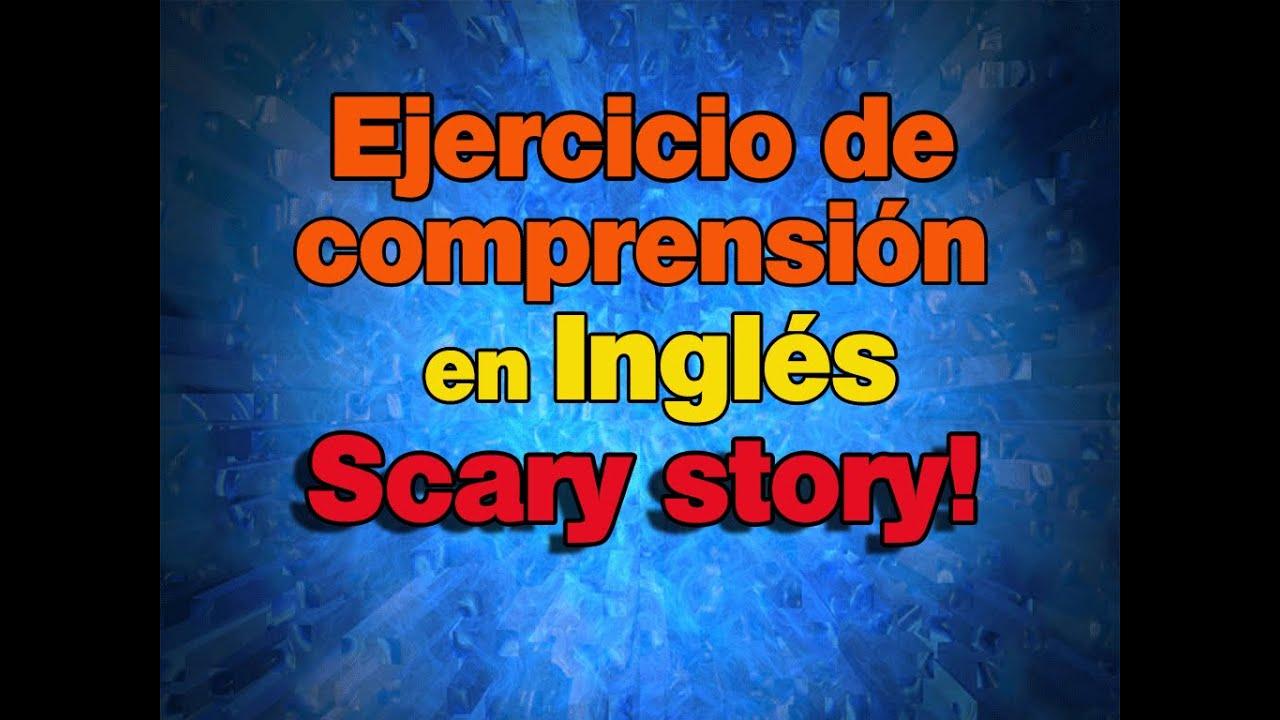 Halloween story.  Ejercicio de comprensión en Inglés.