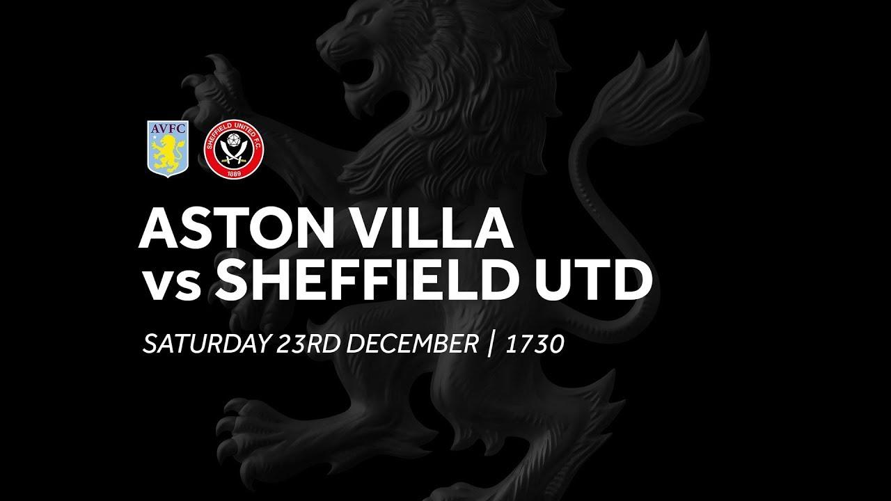 Aston Villa 2 2 Sheffield United Extended Highlights