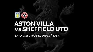 Aston Villa 2-2 Sheffield United   Extended highlights