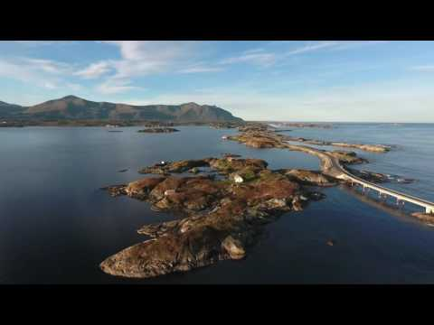 Atlanterhavsveien Norge, Atlantic Road Norway, National Turist Route, Møre og Romsdal