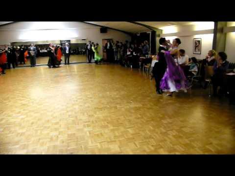 TSC Castell Lippstadt - Tanzturnier Sen. I A, 8.01.2012: Quick Step