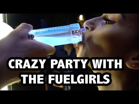 CRAZY PARTY IN BEIRUT WITH THE FUELGIRLS | Vlog #38
