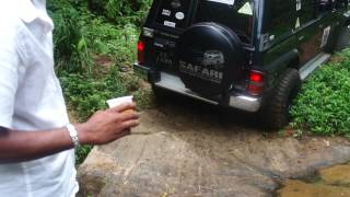 4X4 off road action in Sri lanka