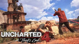 Uncharted 4 A Thief's End - Kuleler - Bölüm 9