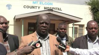 Trans Nzoia county government seeks services of unemployed health personnel to curb paralysis