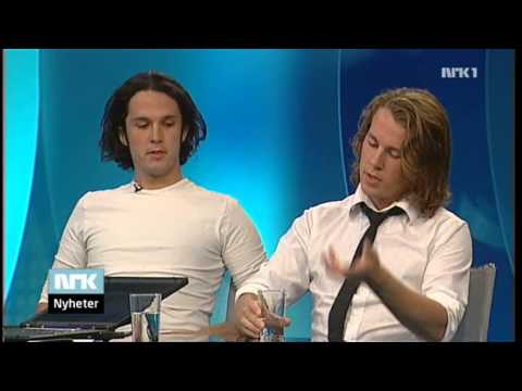 2008 07 15 Ylvis on I kveld, Christian Strand [English Subs]
