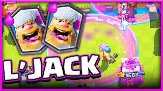 Watch this! • LUMBERJACK DECK • Legendary Clash Royale!