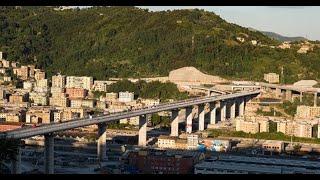 Genova, l'inaugurazione del nuovo Ponte San Giorgio