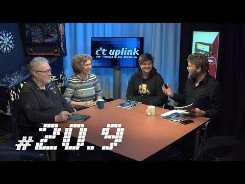 c't uplink 20.9: Dramatische Technik-Trends, 4K-Beamer und Podcast-Apps
