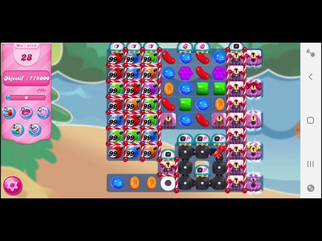 Candy Crush Saga niveau 4779