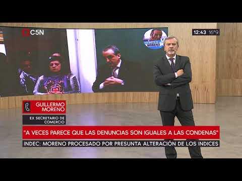 """Guillermo Moreno: """"Soy respetuoso de las decisiones judiciales"""""""