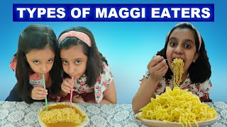 8 Types of Maggi Eaters | Noodles Story | Funny Stories Hindi Comedy Video #Fun #Kids