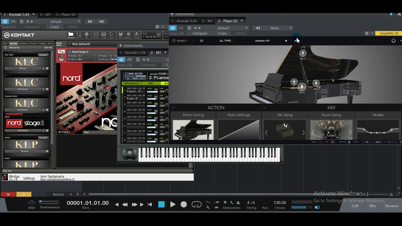 Nord vs Korg M1 Grand Piano VST Challenge ( Which One Sound Better ) ?