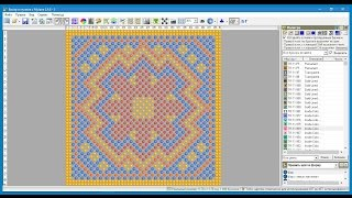"Программа ""Бисер и мулине с MyJane"" — функция Ажур, различные виды плетений"
