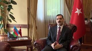 Türkiyənin Azərbaycandakı səfiri Erkan Özoralın Anadolu Universiteti haqqında müsahibəsi