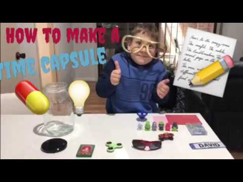 DIY KIDS TIME CAPSULE!! A How-To Into The Future, Kids Acticities, Kids Fun,
