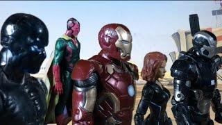 Marvel's Captain America: Civil War - Big Game Spot Done in STOP MOTION
