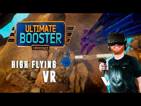 Ultimate Booster Experience: VR bungee jumping and other high speed experiences with HTC Vive