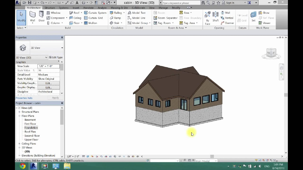 How to create a foundation plan in revit architecture for Creation plan
