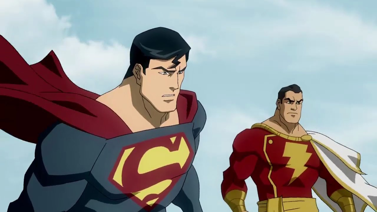 superman shazam the return of black adam vf