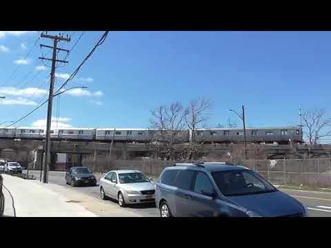 IND Rockaway Line: NOT IN SERVICE R46 A Train@Hammels Wye