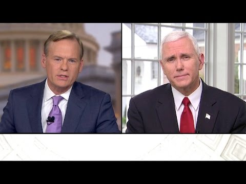 Full interview: Mike Pence, November 20