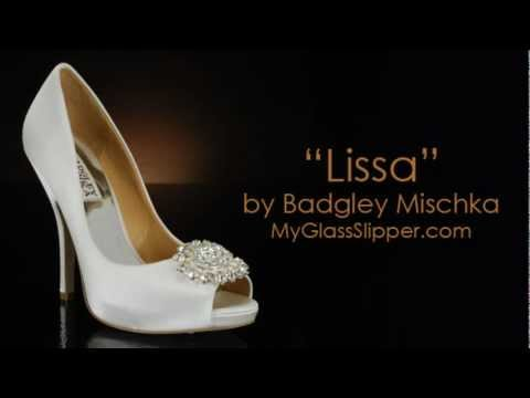 Wedding Shoe Review for Lissa by Badgley Mischka