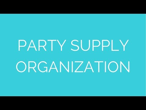 Party supply organization