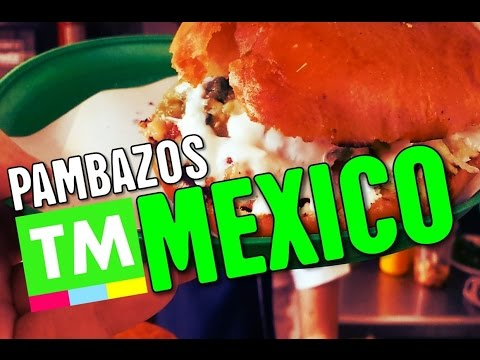 PAMBAZOS! Mexico's SALSA-DUNKED Sandwich | Street Food