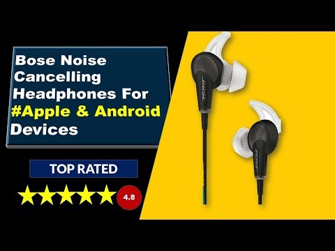 Bose Headphones Noise Cancelling For Apple & Android Devices