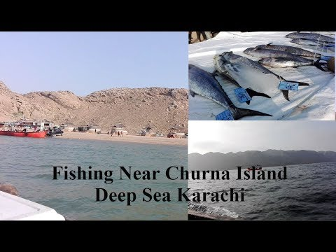 Fishing Tournament Near Churna Island Karachi