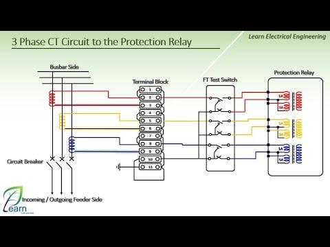 3 Phase Ct Circuit, Terminal Block Wiring Diagram