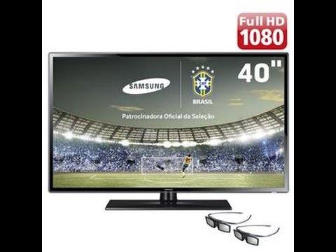"TV 3D Slim LED 40"" Full HD Samsung 40F6100"