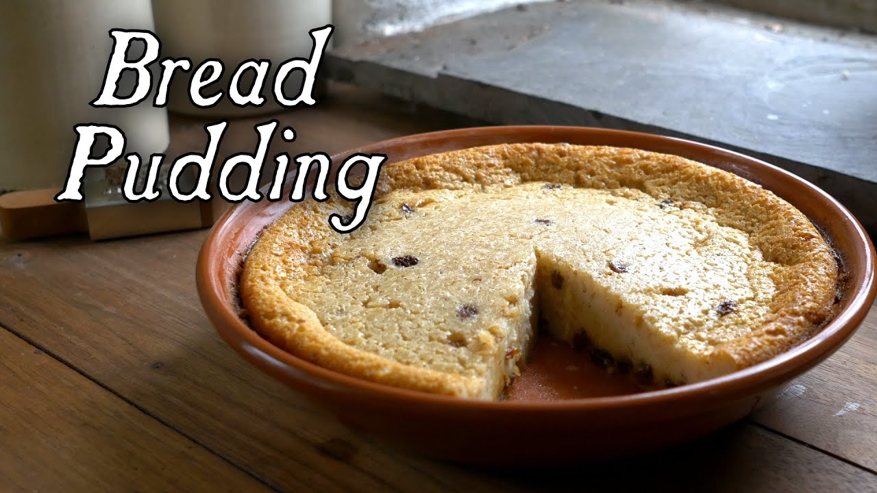 A must try recipe 18th century bread pudding youtube for 18th century cuisine