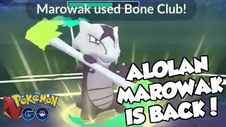 ALOLAN MAROWAK IS BACK FOR ANOTHER CUP! Pokemon GO PvP Ferocious Cup Great League Matches