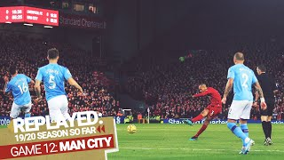 REPLAYED: Liverpool 3-1 Man City | Fabinho's screamer sets the Reds up for big Anfield win
