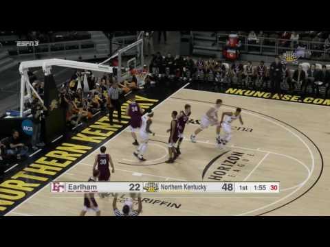NKU Men's Basketball: Highlights vs. Earlham 11/11/16